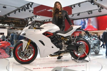 Ducati SuperSport: 'Most Beautiful Bike' of 2017 EICMA