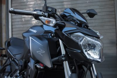 2017 Kawasaki Z650 First Ride Review - headlight