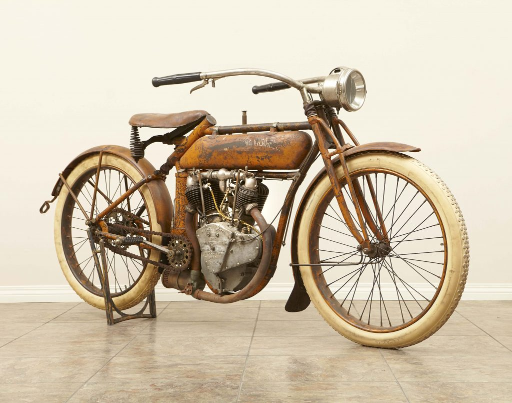 Flying Merkel Twin 1913