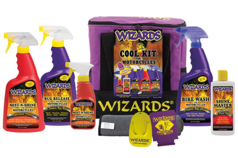 Motorcycle Gift Guide: Wizards Cool Kit