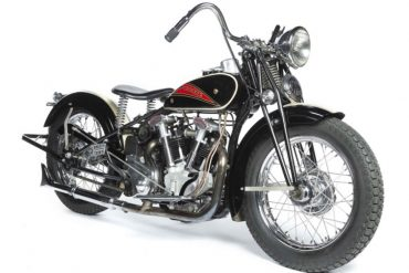 1937 Crocker Small Tank Motorcycle