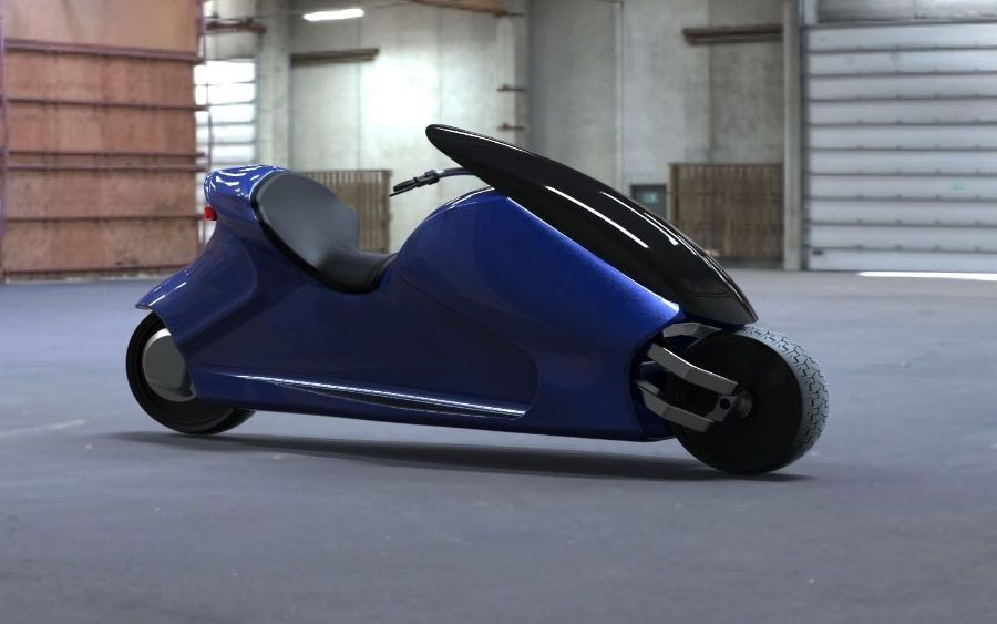 Thrustcycle Unveils GyroCyle, a Self-Balancing Motorcycle