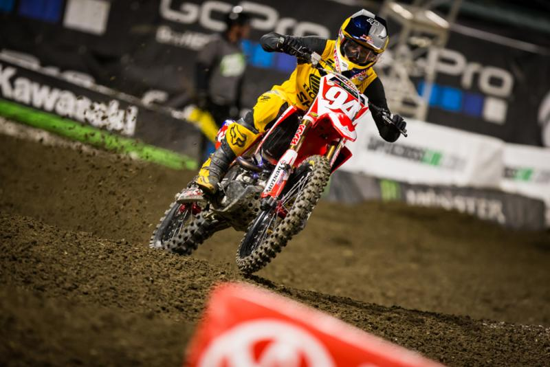 2017 Anaheim 2 Supercross Results - Ken Roczen Injured