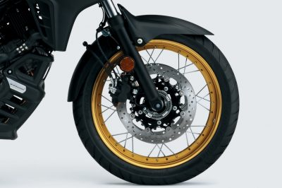 2017 Suzuki V-Strom 650 spoked wheels