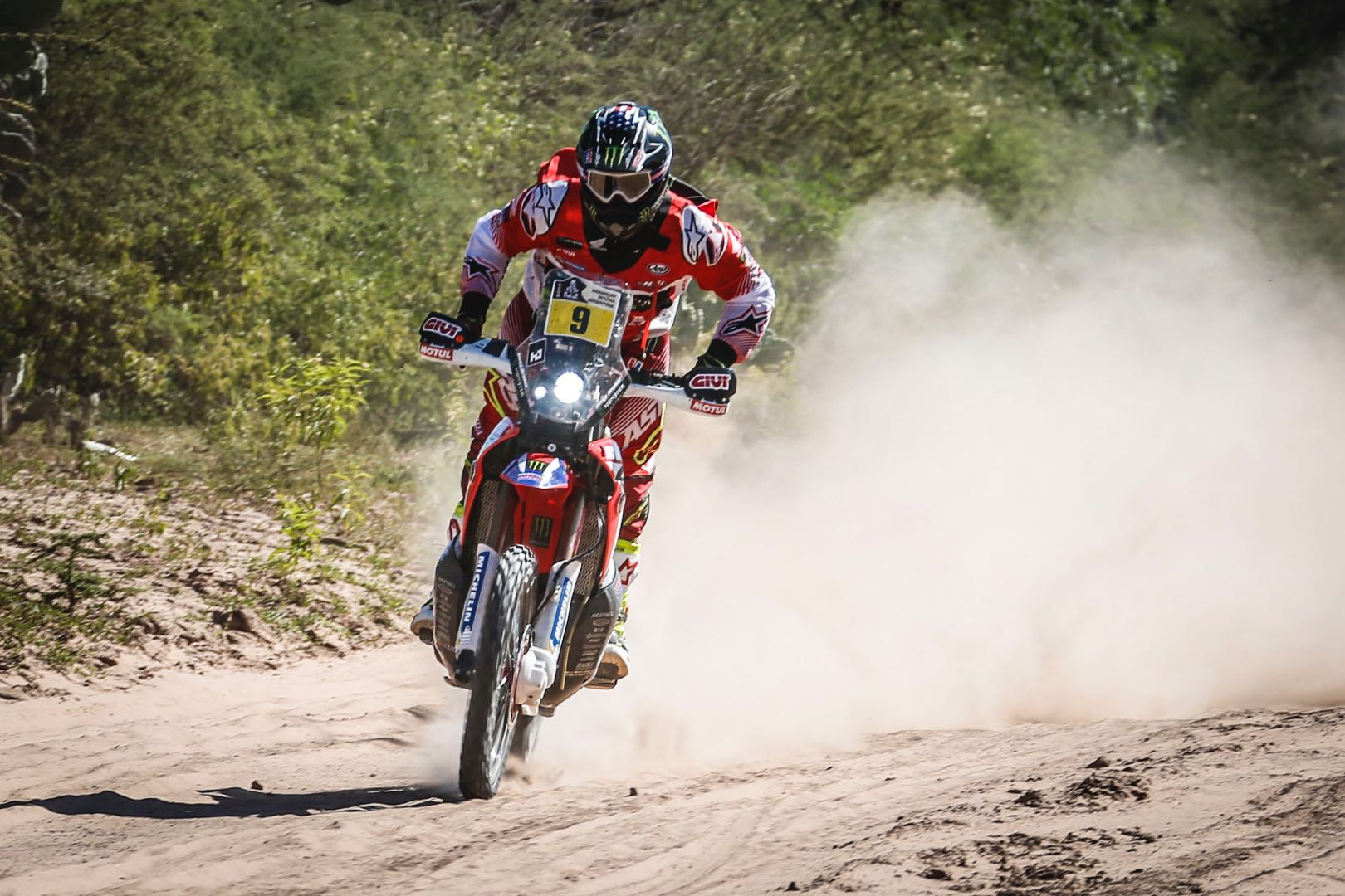 When the 2017 Dakar Rally overall results were in, America's Ricky Brabec was missing from the chats. He crashed during stage 11, and was forced to retire.