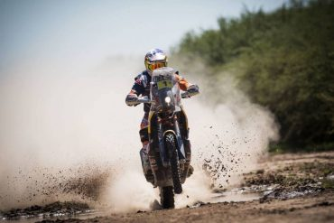 2017 Dakar Rally Stage 2 Motorcycles: KTM's Price Grabs Overall Lead