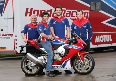 Honda Racing Team with Guy Martin and John McGuinness