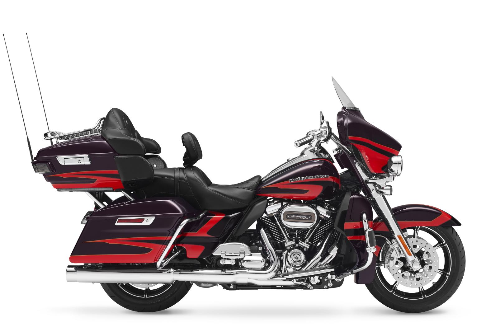 2017 Harley-Davidson CVO Limited red/black