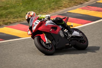 Leod Escapes Sachsenring
