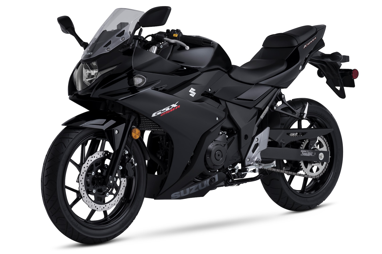 2018 suzuki gsx250r katana price and colors announced. Black Bedroom Furniture Sets. Home Design Ideas