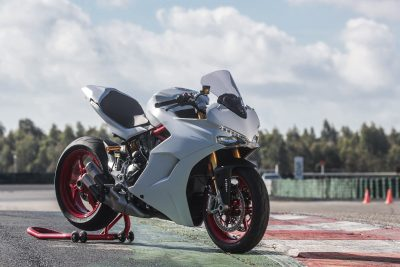 2017 Ducati SuperSport S First Ride Test - Accessorized