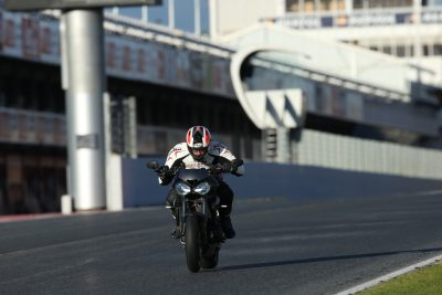 2017 Triumph Street Triple RS Review catalunya top track speed