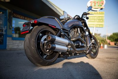 2017 Harley-Davidson V-Rod Night Rod Special exhaust