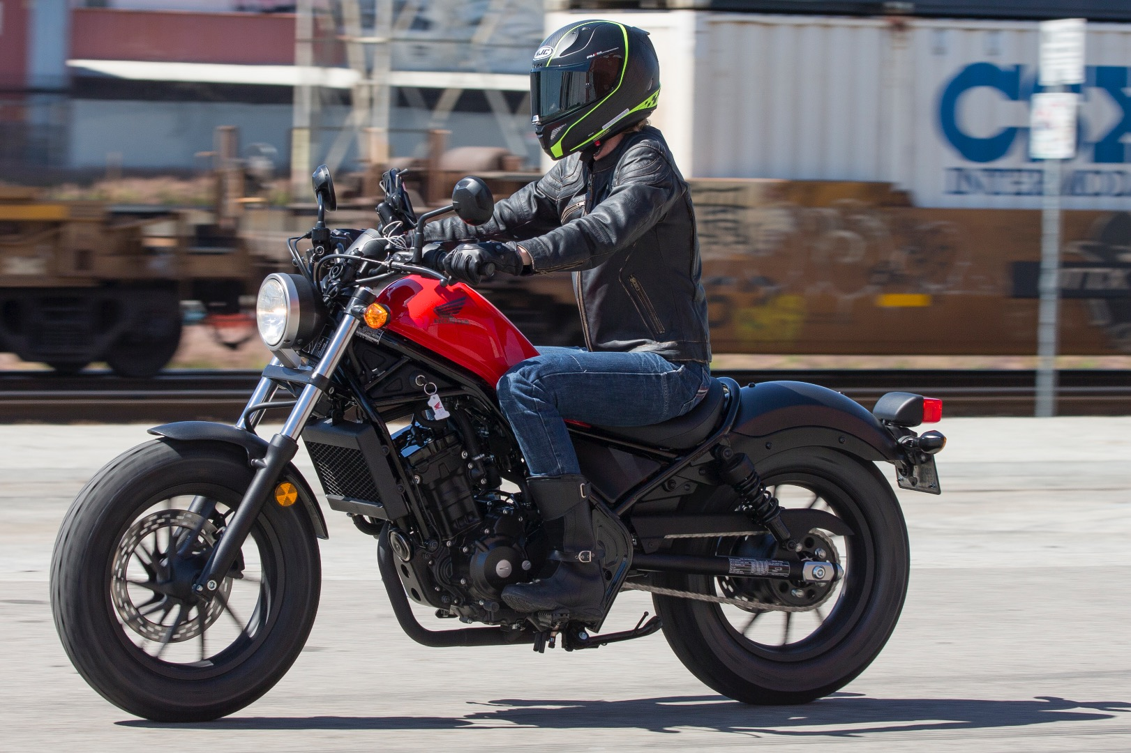 2017 Honda Rebel 300 First Ride
