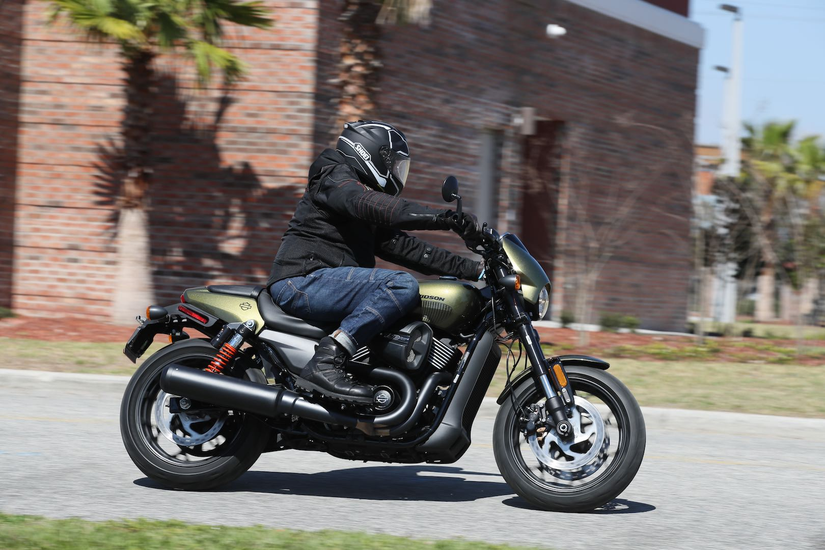 2017 Harley-Davidson Street Rod First Ride: Olive