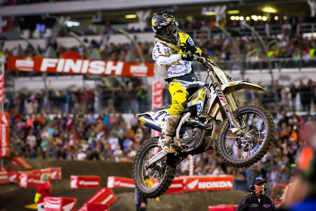 2017 Daytona Supercross Results - Jason Anderson