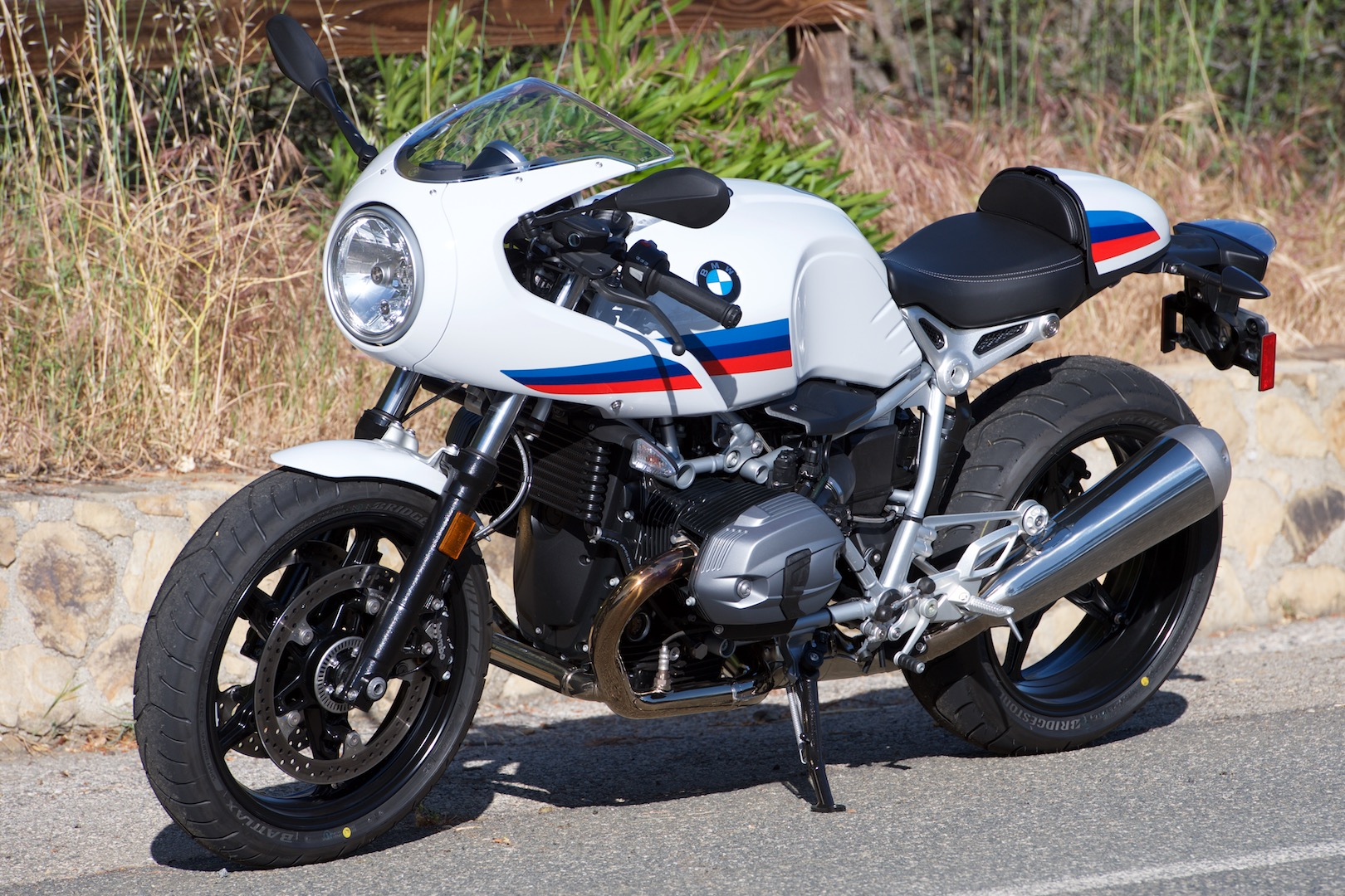 2017 BMW R nineT Racer test