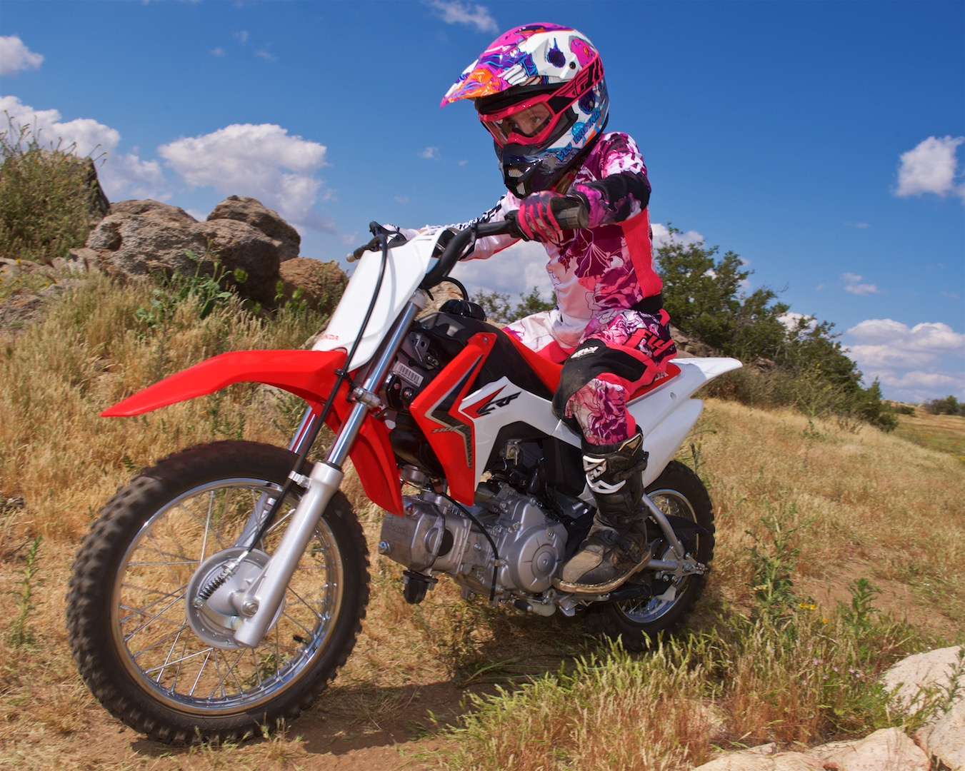 Honda crf100f review bing images for Honda crf110f top speed