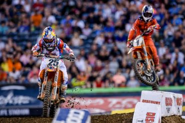 2017 New Jersey Supercross Results and Coverage - Dungey and Musquin