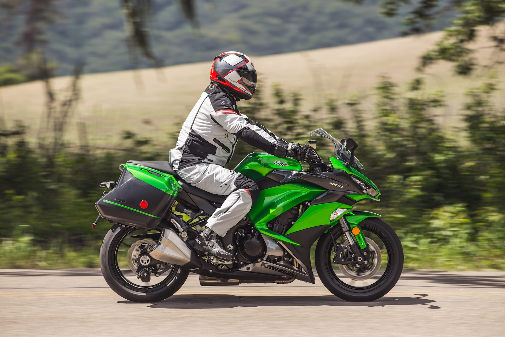2017 Kawasaki Ninja 1000 Abs Review 14 Fast Facts