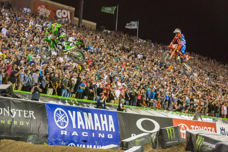 2017 Las Vegas Supercross Results - Tomac vs. Dungey