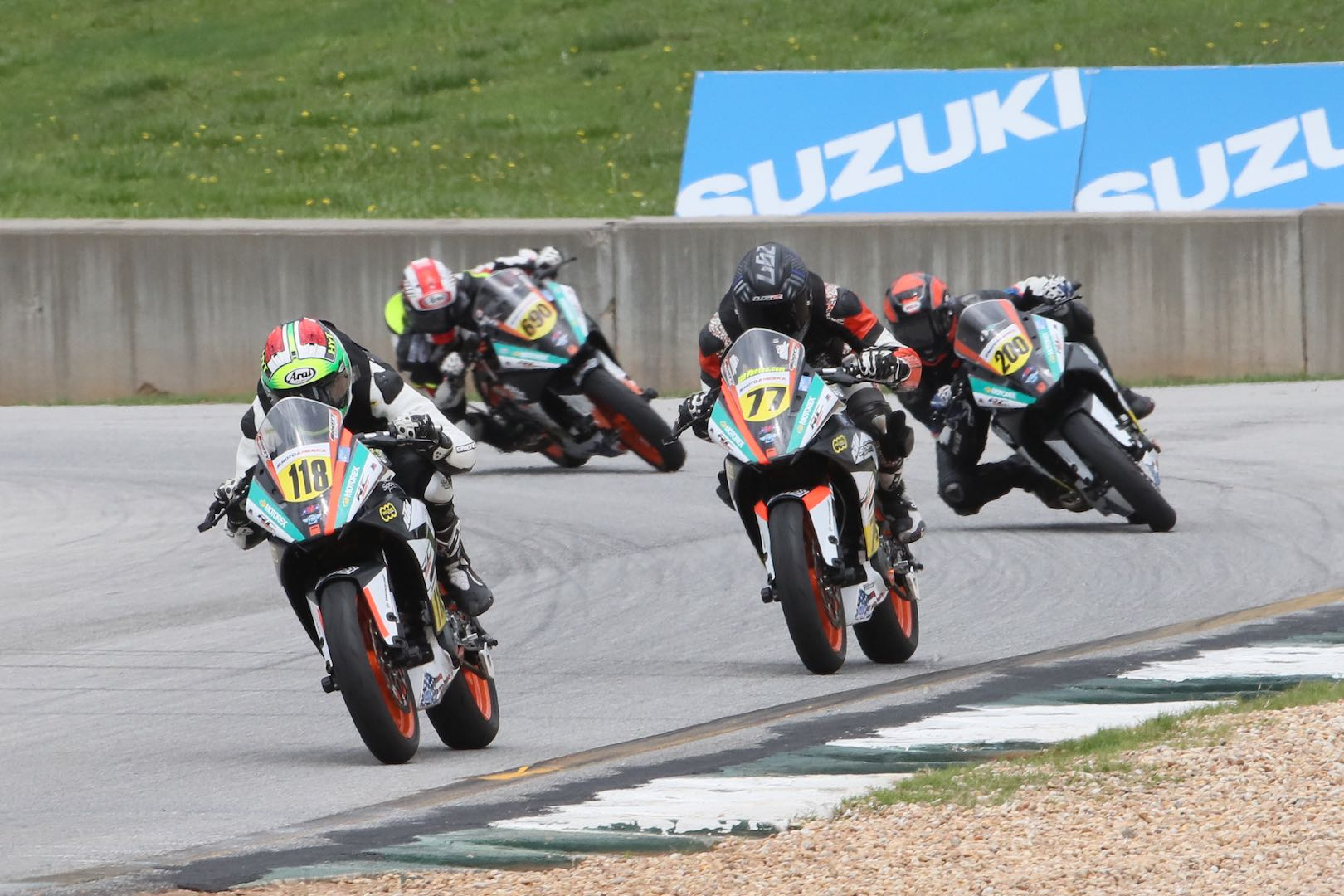 2017 Road Atlanta MotoAmerica Results: Benjamin Smith leads RC Cup