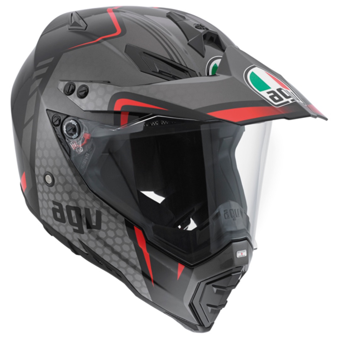 agv ax 8 dual evo helmet review on and off road test. Black Bedroom Furniture Sets. Home Design Ideas