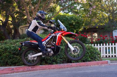 2017 Honda CRF250L Rally jump