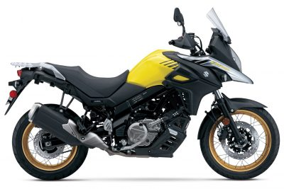 2017 Suzuki V-Strom 650XT Adventure yellow