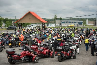 Can-Am Spyder Owners Gather for 10th Anniversary Parade