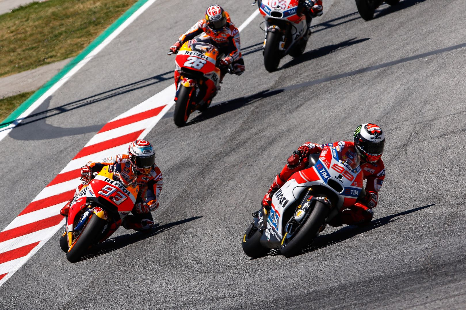 Catalunya Motogp Results Start Of The Race