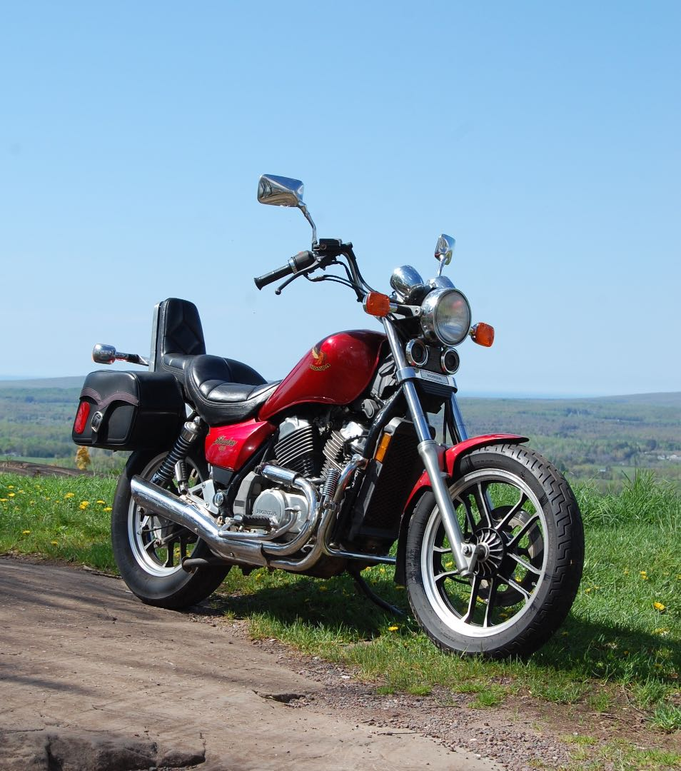 Honda's March to Perfect the 500 Twin: 1985 Honda VT500 Shadow