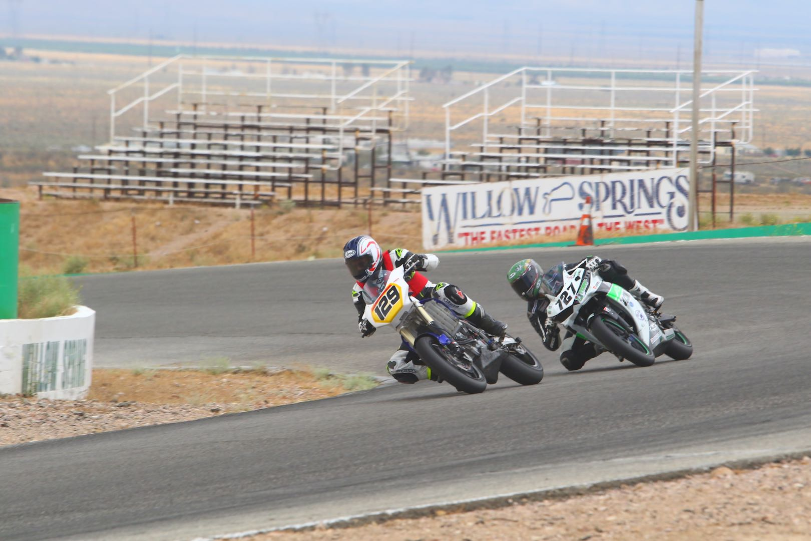 Marc Rittner Amateur racing at Willow Springs WERA
