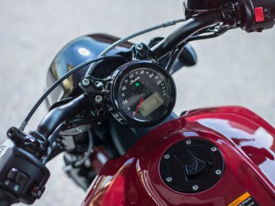 2018 Indian Scout Bobber gauges