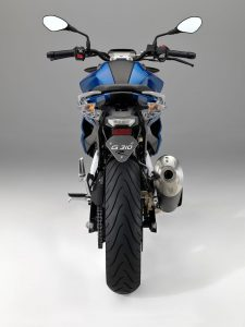 2018 BMW G 310 R rear tire