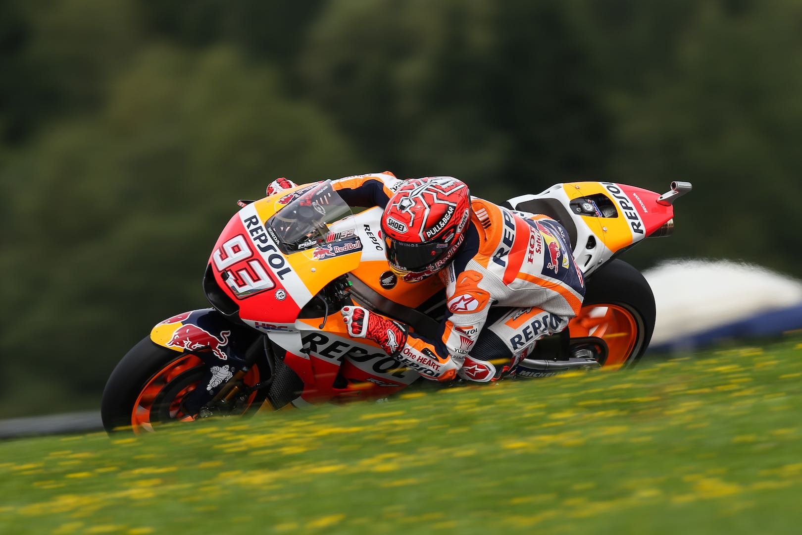 MotoGP champion Marquez takes pole position for Austrian GP