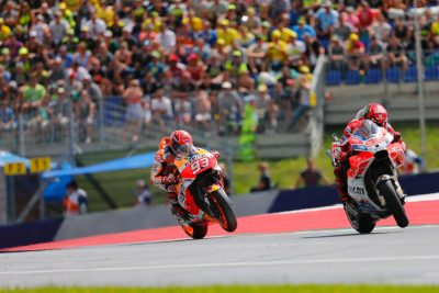 2017 Austria MotoGP Results from Red Bull Ring: Ducati's Lorenzo and Marquez