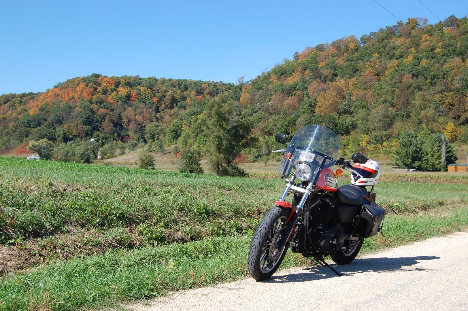 Fall Motorcycle Riding Tips Autumn