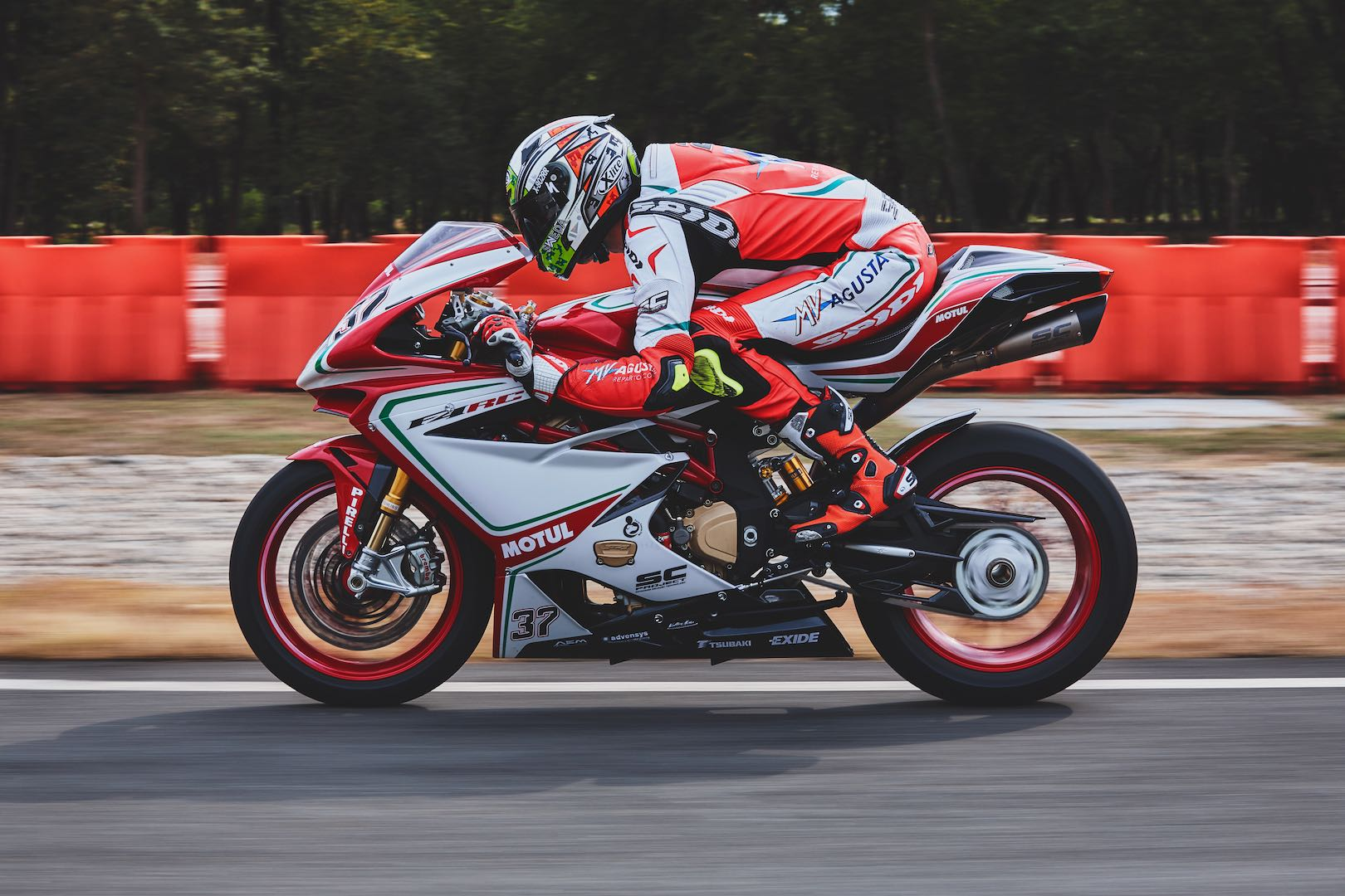 2018 MV Agusta F4 RC top speed