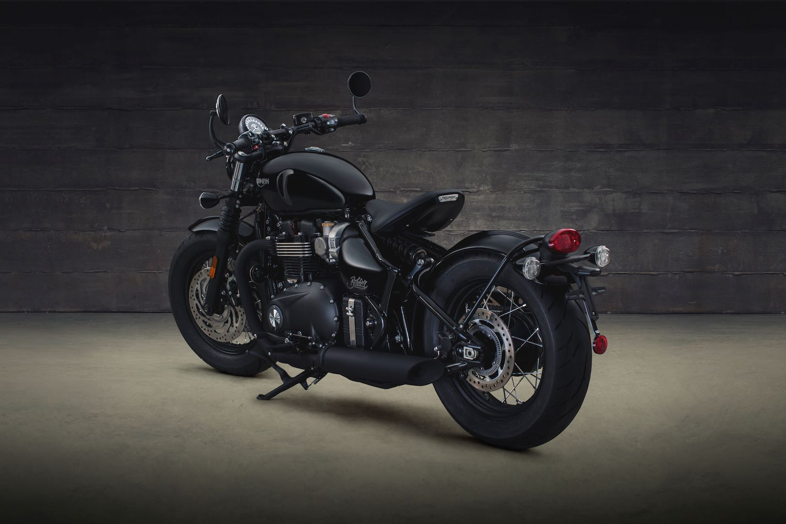 2018 Triumph Bonneville Bobber Black for sale