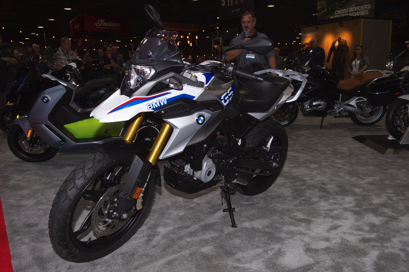 2018 BMW G 310 GS ADV motorcycle