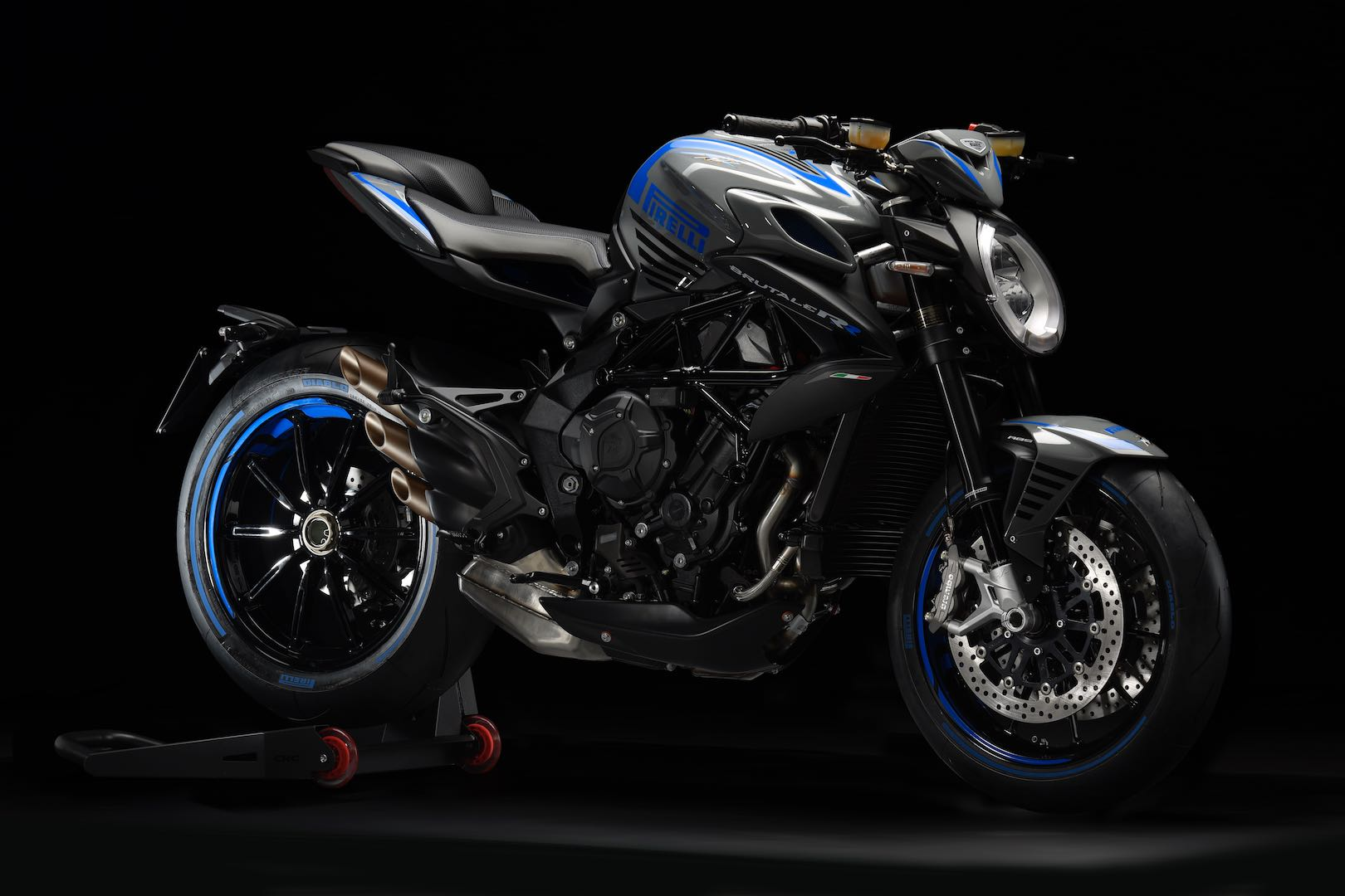 MV Agusta Brutale 800 RR Pirelli blue color