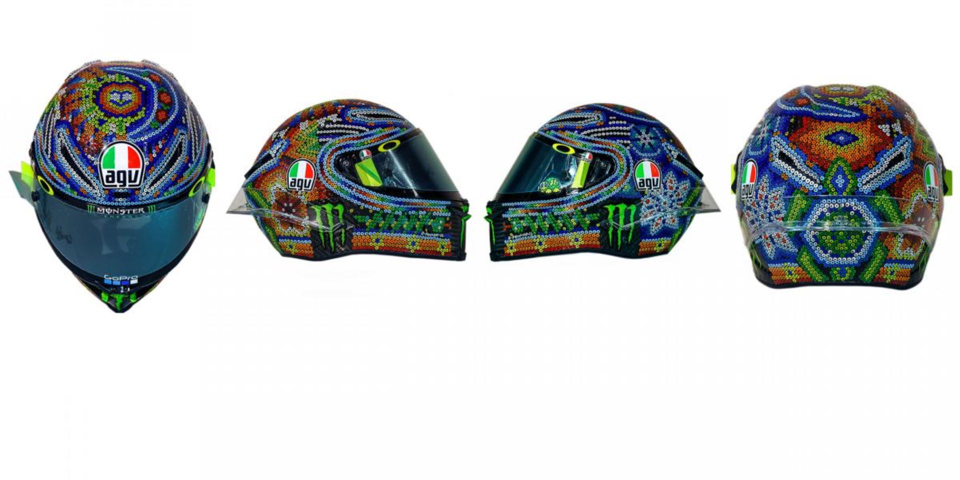 Valentino Rossi 'Huichol' Art Helmet Unveiled | Always a Cool Story