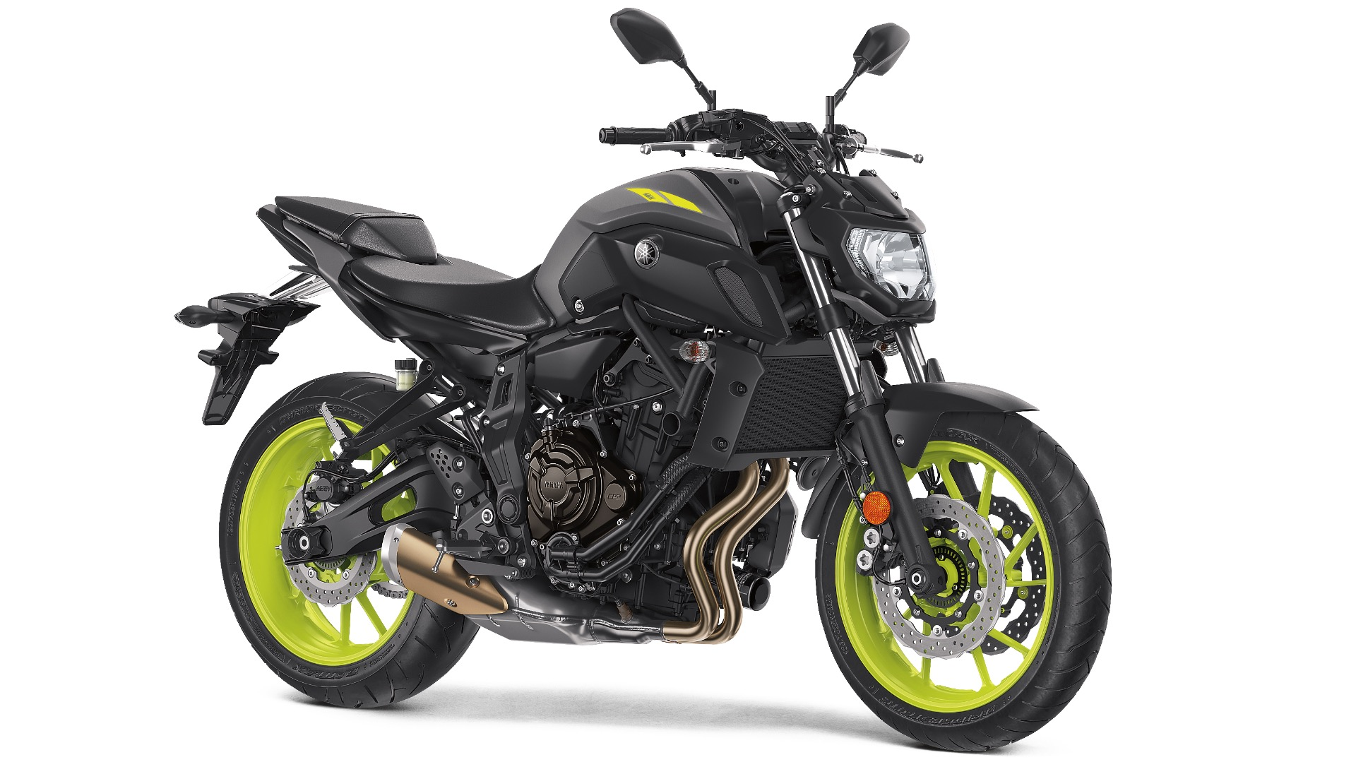 2018 Yamaha MT-07 First Look - Black 3/4