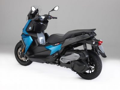 2018 BMW C 400 X Scooter blue