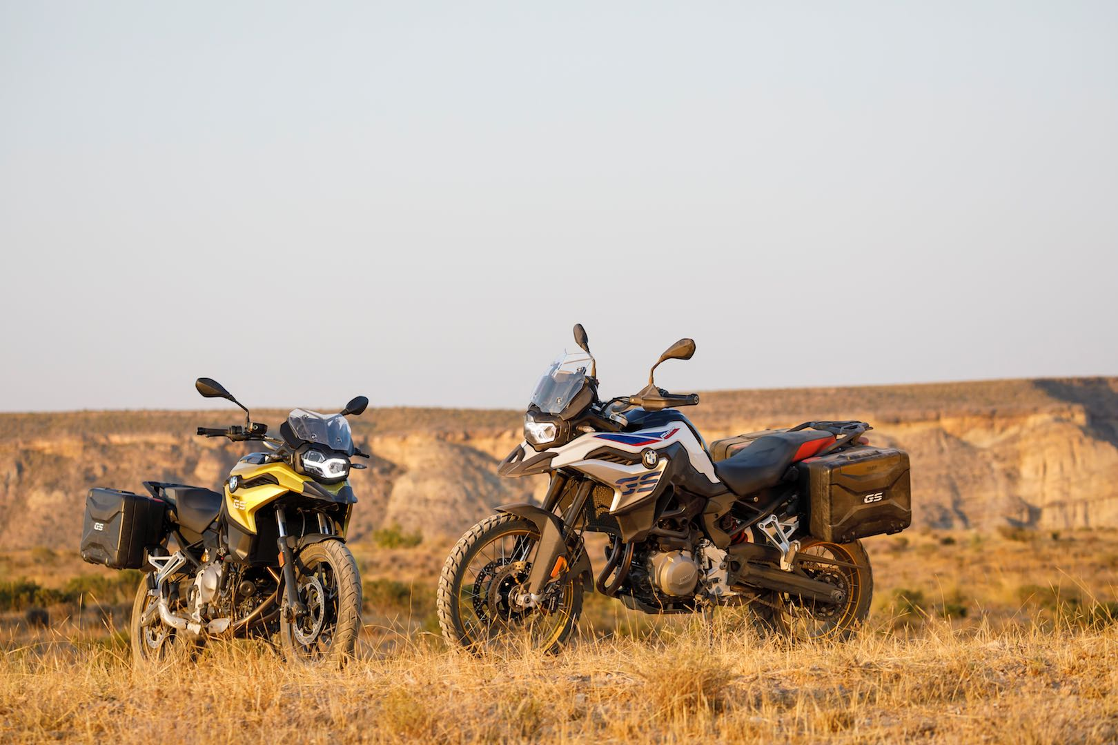 2018 BMW F 850 GS and F 750 GS