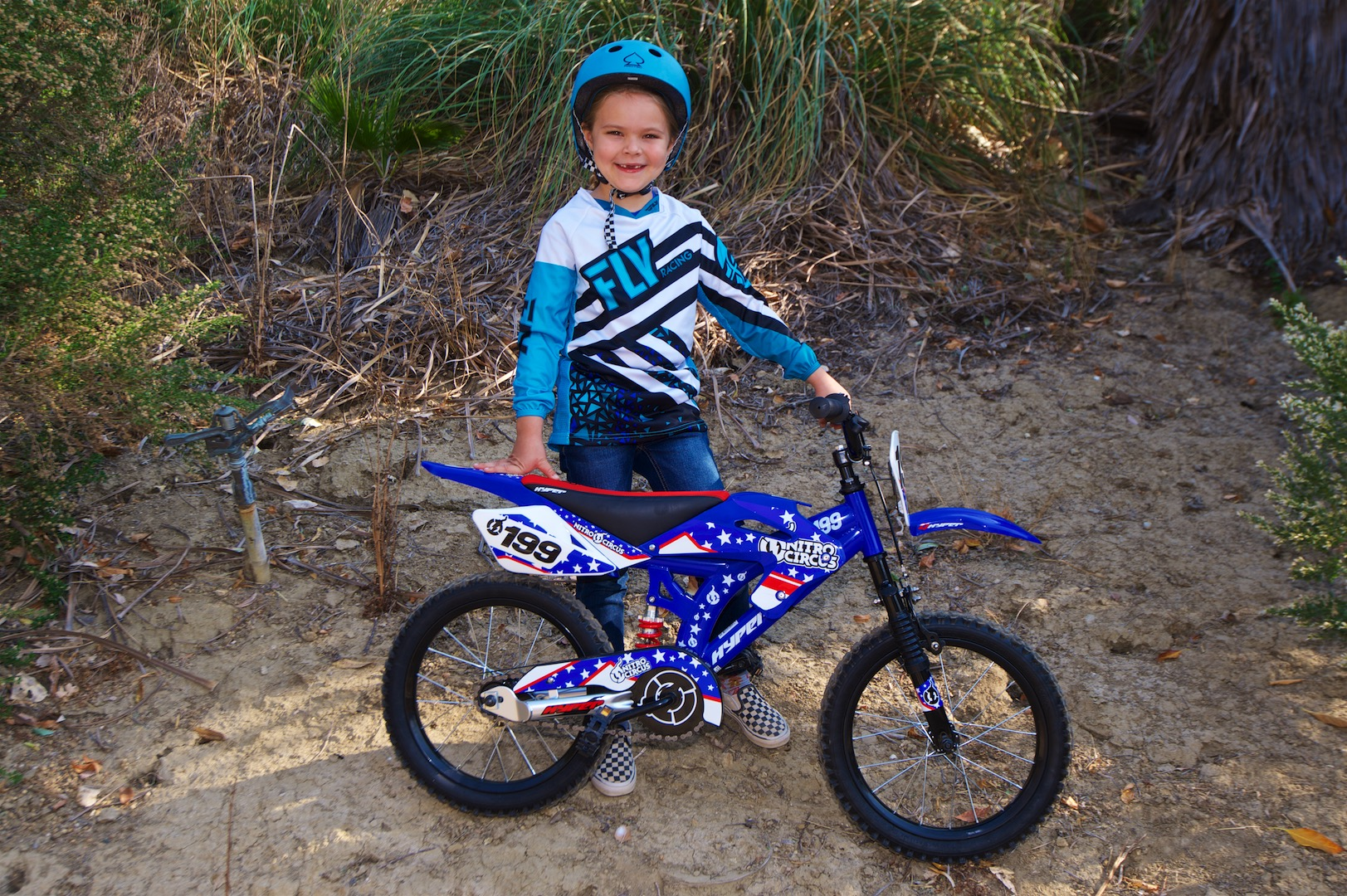 "Hyper 16"" Nitro Circus Motobike Kids' Bike for sale near me"