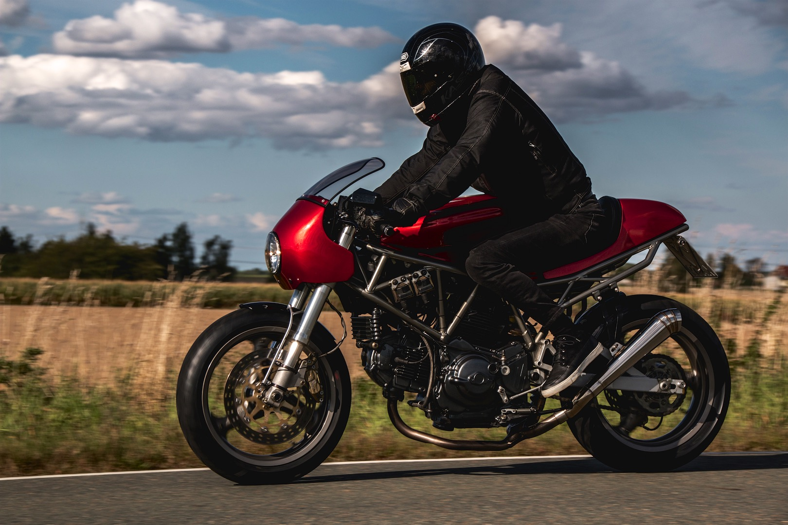 Kaspeed Custom Motorcycles Ducati 750 SS photos