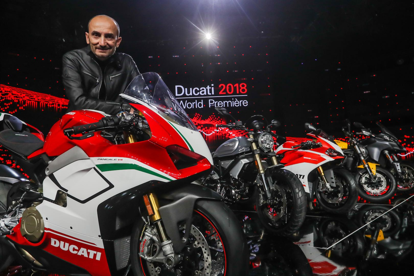 2017 Ducati Sales Report: Panigale V4 and Claudio Domenicali