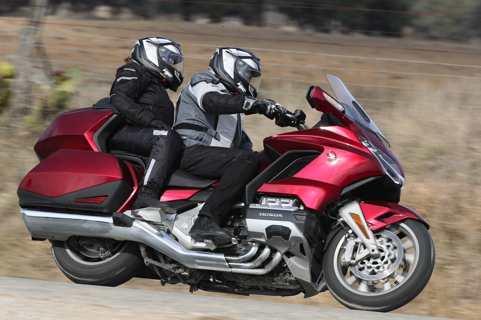 2018 Honda Gold Wing Tour DCT Review heated grips